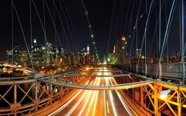 Papel de parede Nova York Vista da Ponte