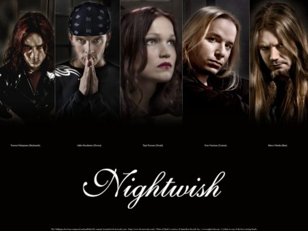 Papel de parede Nightwish para download gratuito. Use no computador pc, mac, macbook, celular, smartphone, iPhone, onde quiser!
