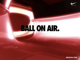 Papel de parede Nike – Ball On Air