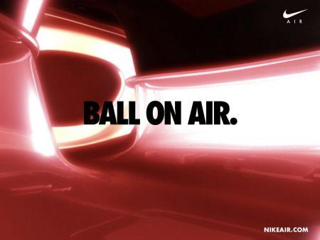 Papel de parede Nike – Ball On Air para download gratuito. Use no computador pc, mac, macbook, celular, smartphone, iPhone, onde quiser!