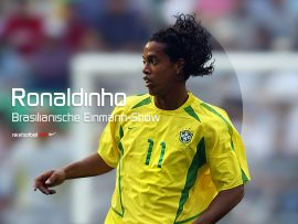 Papel de parede Nike Ronaldinho
