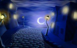 Papel de parede Noite – Desenho