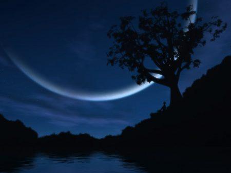 Papel de parede Noite – Lua Incrível para download gratuito. Use no computador pc, mac, macbook, celular, smartphone, iPhone, onde quiser!