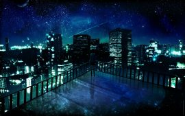 Papel de parede Noite – Mangá