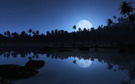 Papel de parede Noite – Na Água