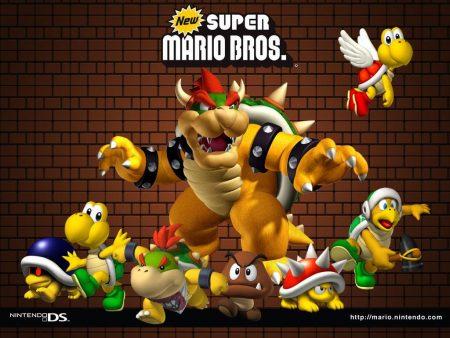Papel de parede Novo Super Mario Bros. para download gratuito. Use no computador pc, mac, macbook, celular, smartphone, iPhone, onde quiser!