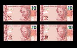 Papel de parede Novos 10 reais