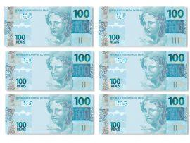 Papel de parede Novos 100 reais