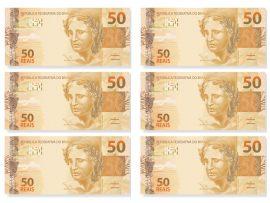 Papel de parede Novos 50 reais
