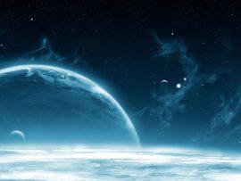 Papel de parede Nuvens Espaciais