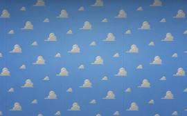 Papel de parede Nuvens na Parede