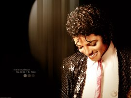 Papel de parede O Sorriso de Michael