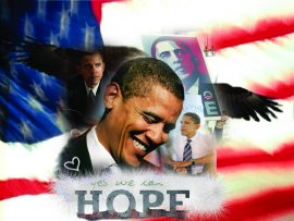 Papel de parede Obama – Hope