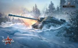 Papel de parede Object 704, Soviético – Wold of Tanks
