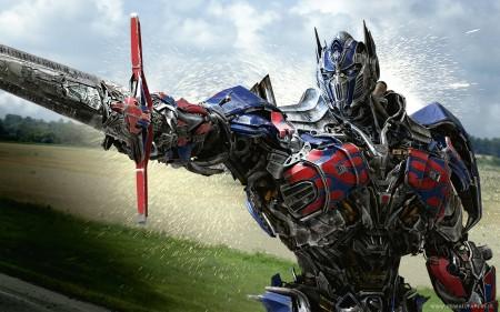 Papel de parede Transformers 4: Optimus Prime em Batalha para download gratuito. Use no computador pc, mac, macbook, celular, smartphone, iPhone, onde quiser!