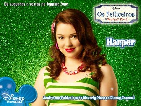 Papel de parede Os Feiticeiros de Waverly Place – Harper para download gratuito. Use no computador pc, mac, macbook, celular, smartphone, iPhone, onde quiser!