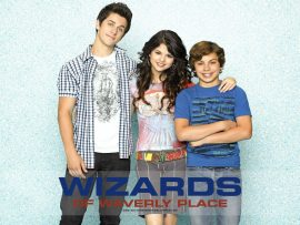 Papel de parede Os Feiticeiros de Waverly Place – Trio