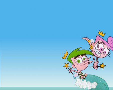 Papel de parede Os Padrinhos Mágicos – Wanda e Cosmo para download gratuito. Use no computador pc, mac, macbook, celular, smartphone, iPhone, onde quiser!