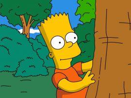 Papel de parede Os Simpsons – Bart