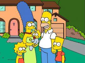 Papel de parede Os Simpsons – Engraçados