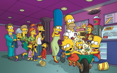 Papel de parede Os Simpsons – No Cinema para download gratuito. Use no computador pc, mac, macbook, celular, smartphone, iPhone, onde quiser!