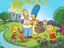 Papel de parede Os Simpsons – Springfield