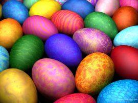 Papel de parede Ovos de Páscoa