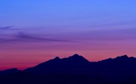 Papel de parede Pôr-do-Sol nas Montanhas