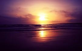 Papel de parede Pôr-Do-Sol no Mar