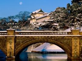Papel de parede Palácio Imperial de Tóquio, Japão