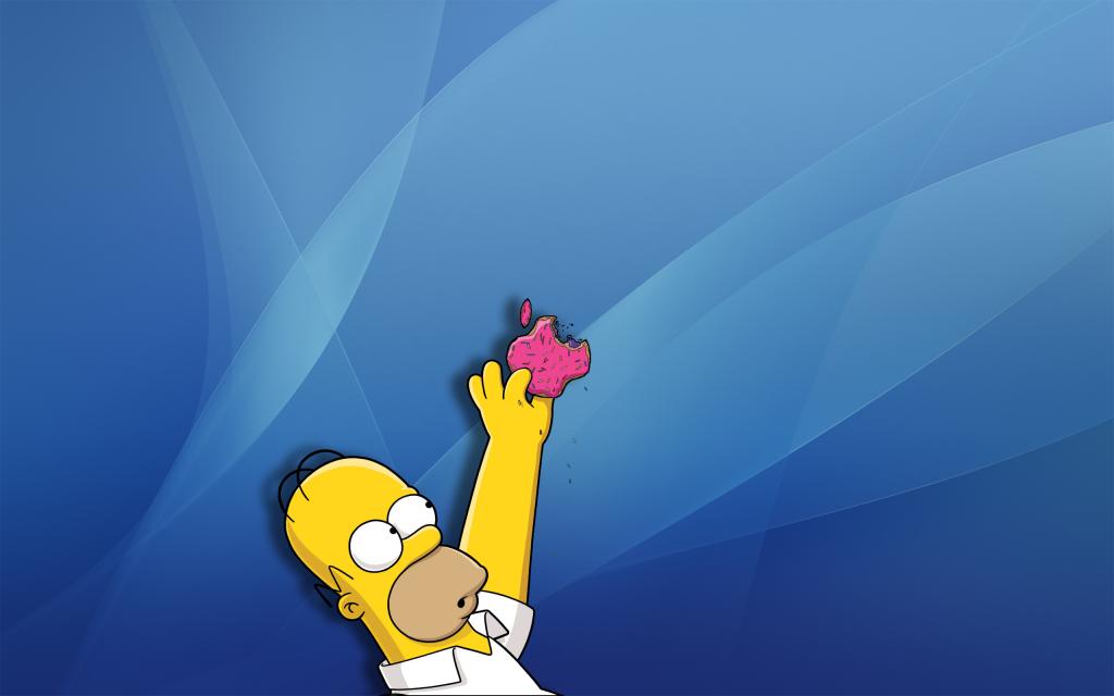 Papel de parede Os Simpsons – Homer Simpson para download gratuito. Use no computador pc, mac, macbook, celular, smartphone, iPhone, onde quiser!