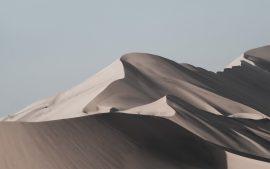 Papel de parede Dunas de areia do deserto