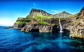 Papel de parede Ilhas do Havaí cachoeira