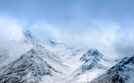 Papel de parede Montanhas de neve Asus ZenFone para download gratuito. Use no computador pc, mac, macbook, celular, smartphone, iPhone, onde quiser!