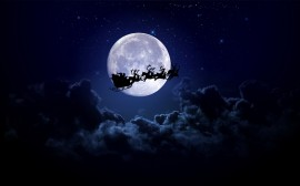 Papel de parede Passagem do Papai Noel