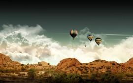 Papel de parede Passeio de Balão