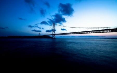 Papel de parede Ponte Akashi-Kaikyo para download gratuito. Use no computador pc, mac, macbook, celular, smartphone, iPhone, onde quiser!