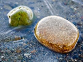 Papel de parede Pedra e Água