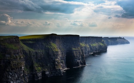 Papel de parede Penhascos Moher – Irlanda para download gratuito. Use no computador pc, mac, macbook, celular, smartphone, iPhone, onde quiser!