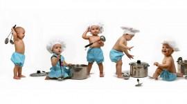 Papel de parede Pequenos Cozinheiros