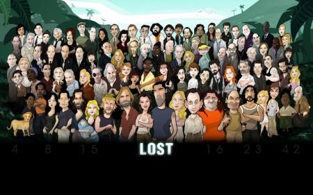 Papel de parede Personagens de Lost em Desenho para download gratuito. Use no computador pc, mac, macbook, celular, smartphone, iPhone, onde quiser!