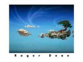 Papel de parede Pintura fantástica de Roger Dean