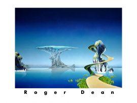 Papel de parede Pintura psicodélica de Roger Dean