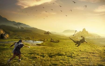 Papel de parede Planeta Dinossauro para download gratuito. Use no computador pc, mac, macbook, celular, smartphone, iPhone, onde quiser!