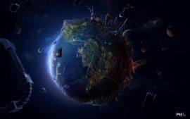Papel de parede Planetinha