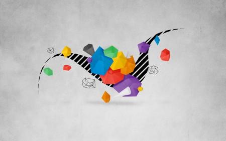 Papel de parede Polígonos Coloridos para download gratuito. Use no computador pc, mac, macbook, celular, smartphone, iPhone, onde quiser!