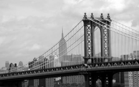 Papel de parede Ponte de Manhattan – Nova Iorque, EUA para download gratuito. Use no computador pc, mac, macbook, celular, smartphone, iPhone, onde quiser!