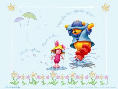 Papel de parede Pooh – Capa de Chuva para download gratuito. Use no computador pc, mac, macbook, celular, smartphone, iPhone, onde quiser!