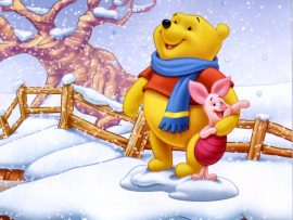 Papel de parede Pooh – Frio