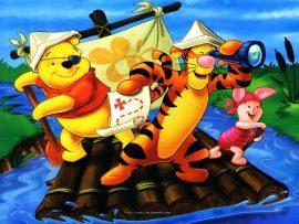 Papel de parede Pooh – Navegando